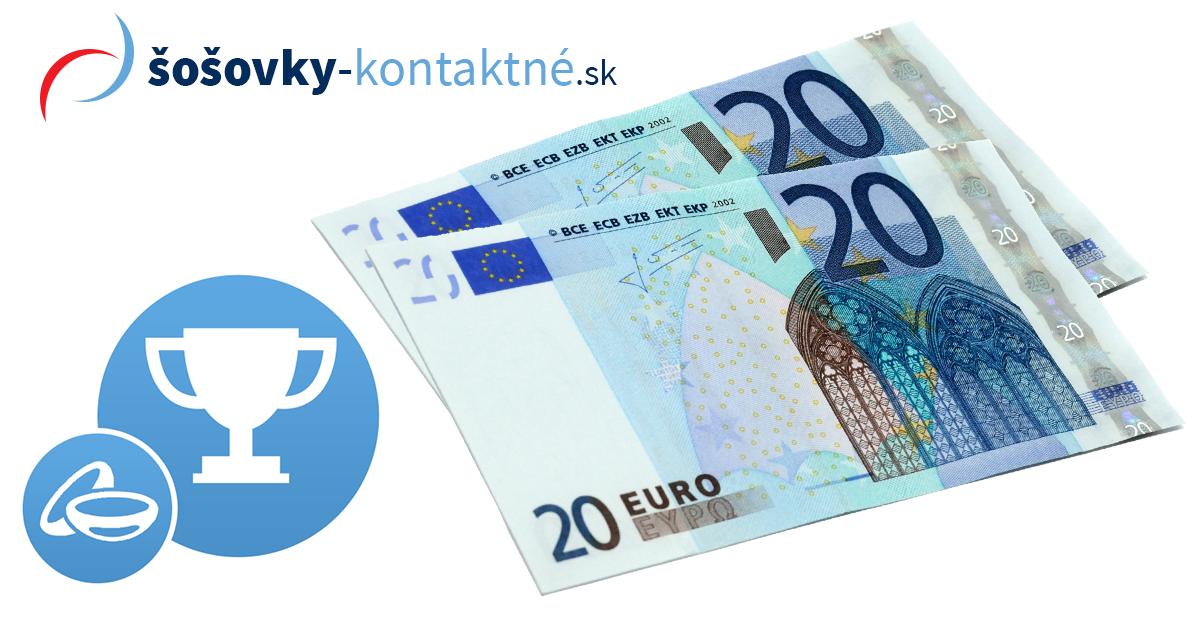 Súťaž o zľavový poukaz v hodnote 40 €