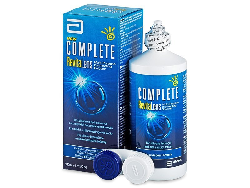 46cbebebc Roztok Complete RevitaLens 360 ml - Čistiaci roztok - Advanced Medical  Optics