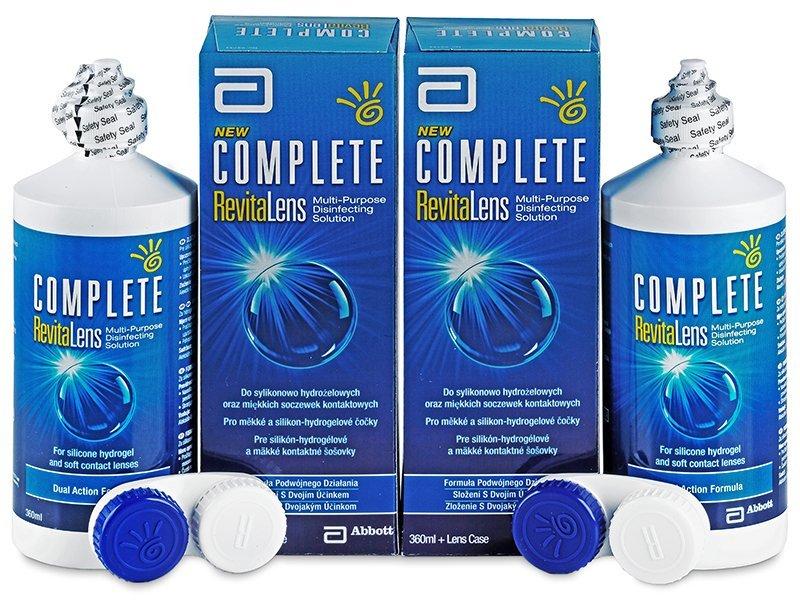 Výhodné dvojbalenie roztoku - Complete RevitaLens 2x360ml