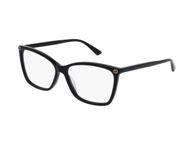 Dioptrické okuliare Gucci GG0025O-001