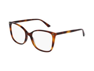 Dioptrické okuliare Gucci GG0026O 002