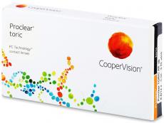 Torické (astigmatické) kontaktné šošovky - Proclear Toric XR (3šošovky)