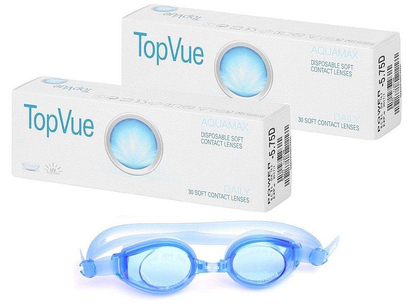 b653bc507 TopVue Daily (2x30 šošoviek) + plavecké okuliare ZADARMO