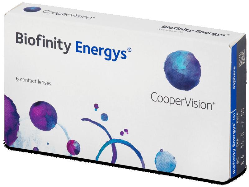 Biofinity Energys (6 šošoviek) - Mesačné kontaktné šošovky