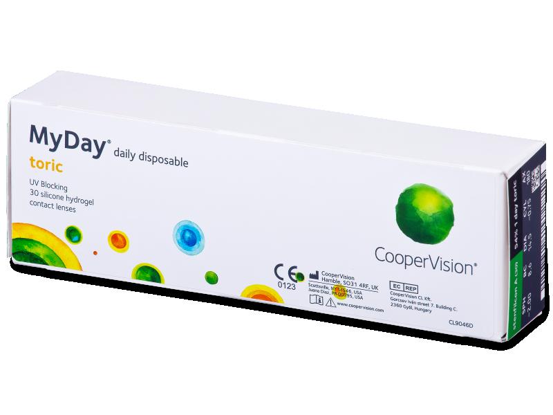 MyDay daily disposable toric (30 šošoviek) - Torické kontaktné šošovky