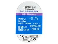 SofLens Daily Disposable (90šošoviek) - Vzhľad blistra so šošovkou