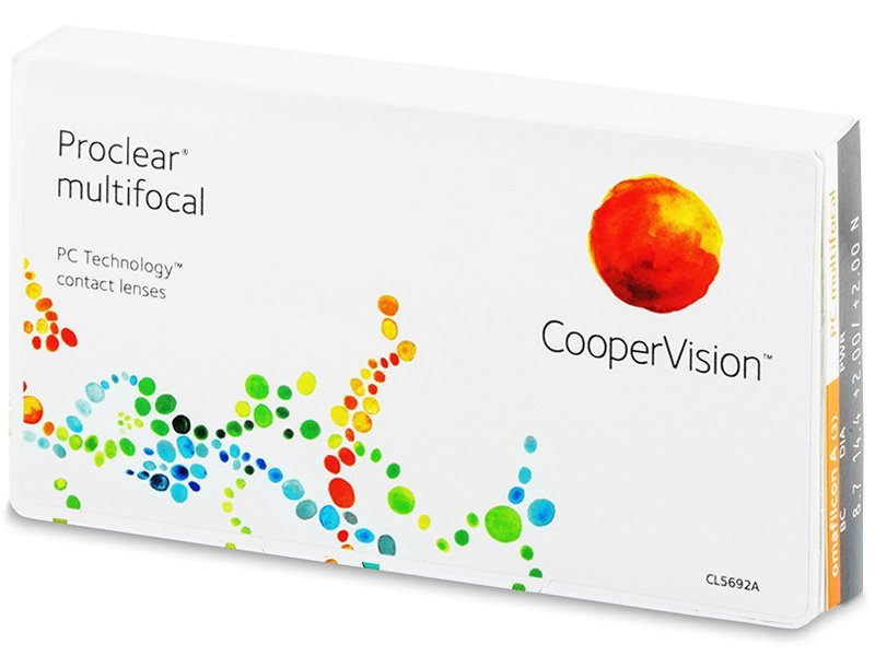 Proclear Multifocal XR (3šošovky) - Multifokálne kontaktné šošovky - Cooper Vision