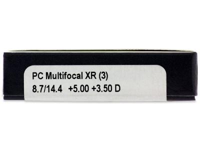 Proclear Multifocal XR (3šošovky) - Náhľad parametrov šošoviek