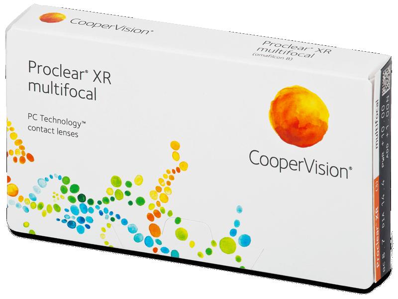 Proclear Multifocal XR (3šošovky) - Multifokálne kontaktné šošovky