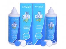 Výhodné balíčky roztokov - Roztok Avizor All Clean Soft 2x350 ml