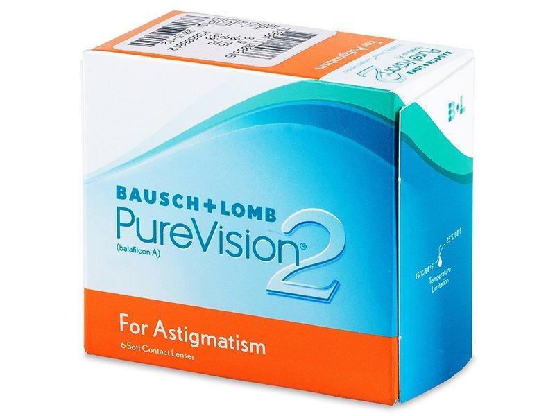 PureVision 2 for Astigmatism (6šošoviek) - Torické kontaktné šošovky - Bausch and Lomb