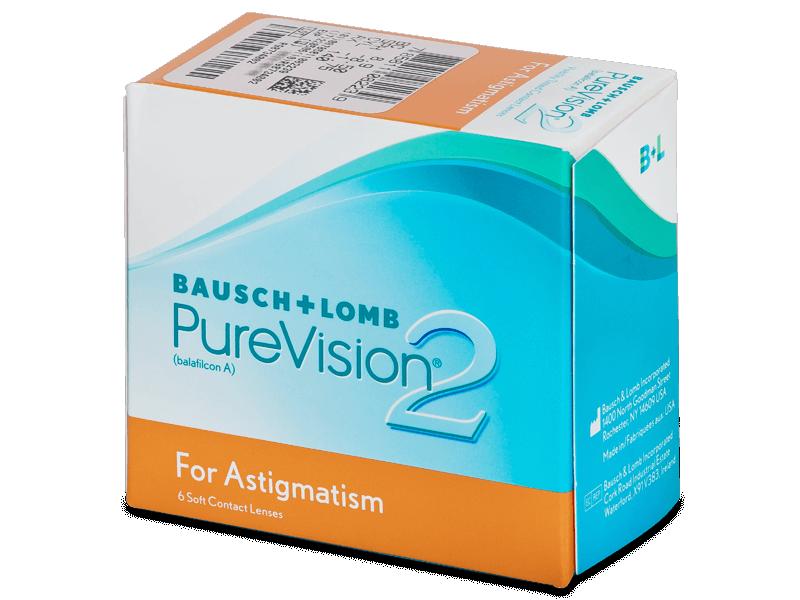PureVision 2 for Astigmatism (6šošoviek) - Tórické kontaktné šošovky