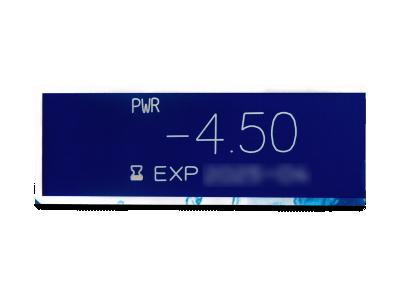 Dailies AquaComfort Plus (180šošoviek) - Náhľad parametrov šošoviek