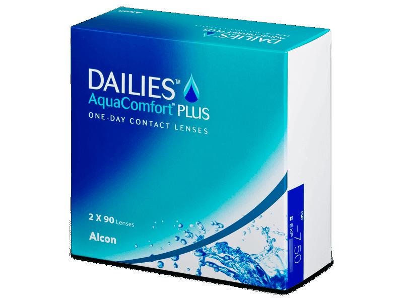 Dailies AquaComfort Plus (180šošoviek) - Jednodenné kontaktné šošovky