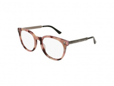 Dioptrické okuliare Oválne - Gucci GG0219O-010