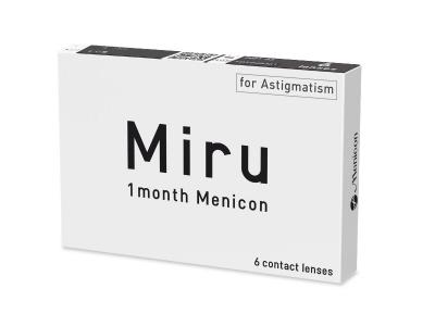 Miru 1 Month Menicon for Astigmatism (6 šošoviek) - Starší vzhľad