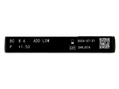 Miru 1 Month Menicon Multifocal (6 šošoviek) - Náhľad parametrov šošoviek