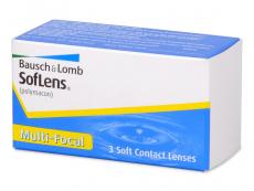 Multifokálne kontaktné šošovky - SofLens Multi-Focal (3šošovky)
