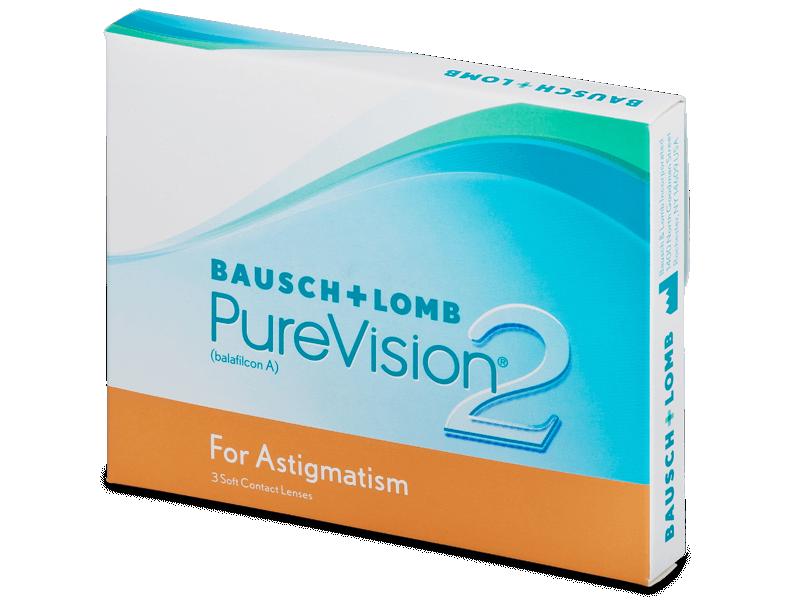 PureVision 2 for Astigmatism (3 šošovky) - Tórické kontaktné šošovky