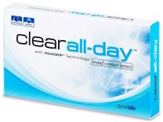 Kontaktné šošovky - Clear All-Day (6šošoviek)