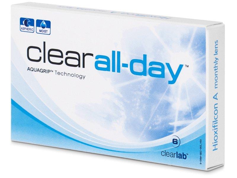 Kontaktné šošovky Clear All-Day (6 šošoviek) 8707263ca30