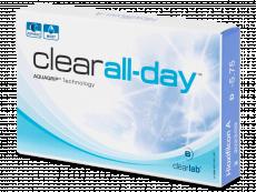 Mesačné kontaktné šošovky - Clear All-Day (6šošoviek)
