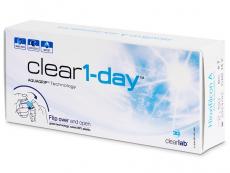 Kontaktné šošovky - Clear 1-Day (30šošoviek)