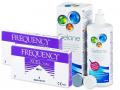 FREQUENCY XCEL TORIC (2x3 šošovky) +roztokGelone360ml