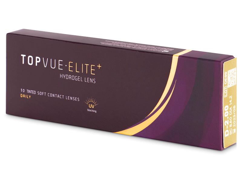 TopVue Elite+ (10 šošoviek) - Jednodenné kontaktné šošovky - TopVue