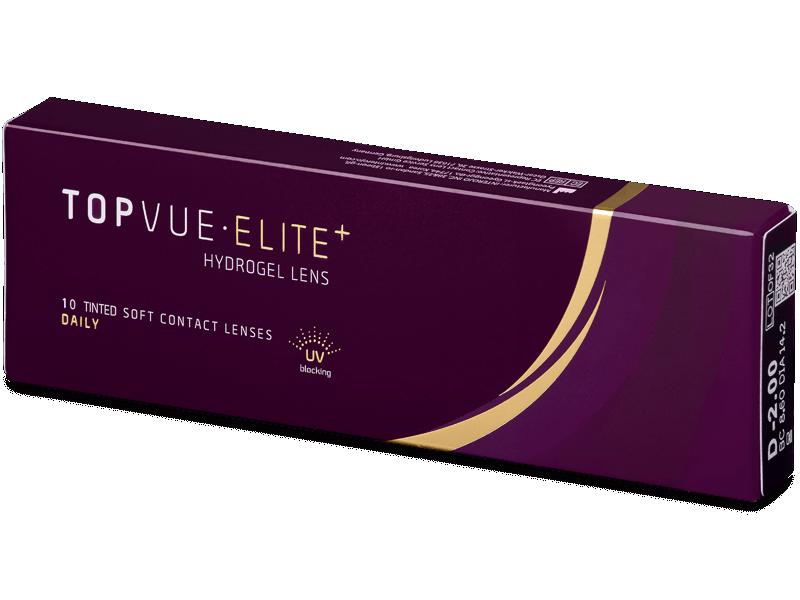 TopVue Elite+ (10šošoviek) - Jednodenné kontaktné šošovky