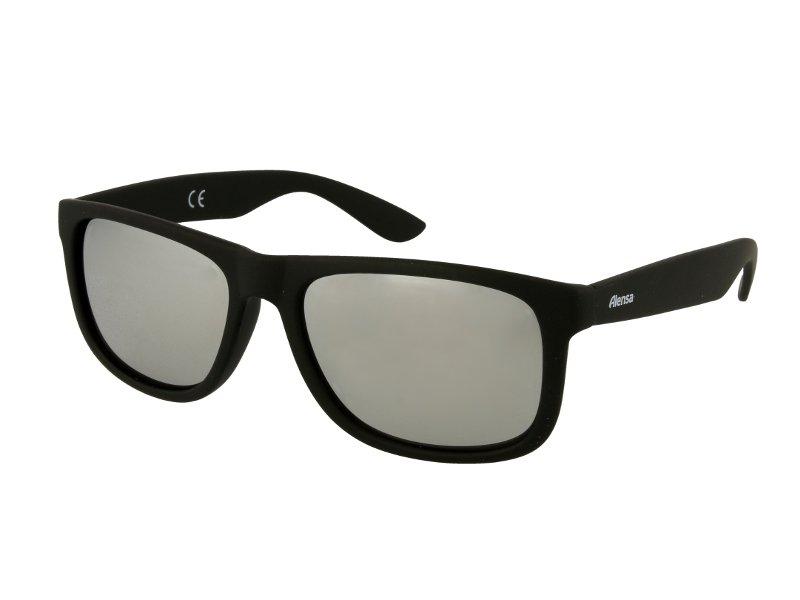 Slnečné okuliare Alensa Sport Black Silver Mirror