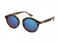 Detské slnečné okuliare Alensa Panto Havana Blue Mirror