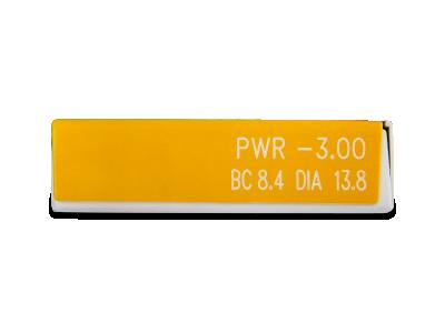 Air Optix EX (3 šošovky) - Náhľad parametrov šošoviek