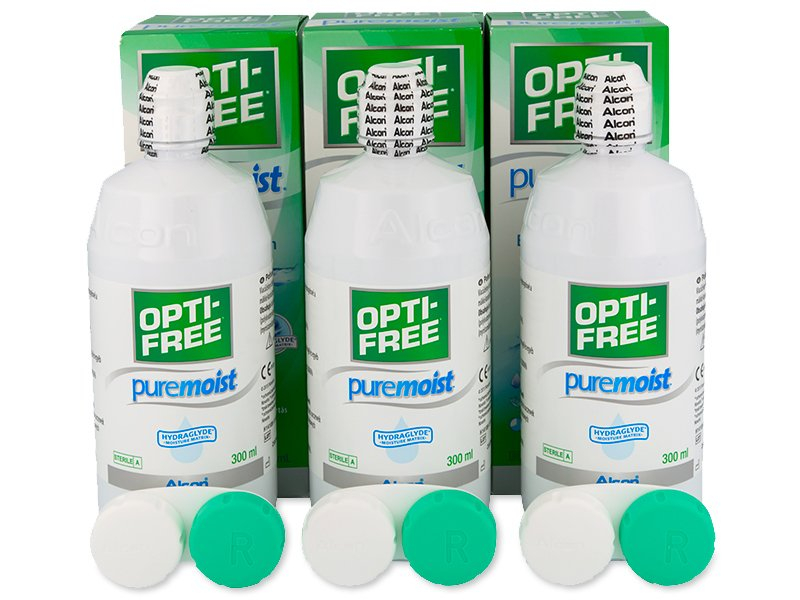 OPTI-FREE PureMoist 3 x 300 ml  - Alcon