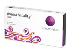 Dvojtýždenné kontaktné šošovky - Avaira Vitality Toric (6 šošoviek)