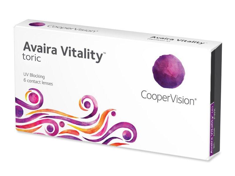 Avaira Vitality Toric (6 šošoviek) - Torické kontaktné šošovky