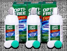 OPTI-FREE Express 3x355ml  - Výhodné trojbalenie roztoku