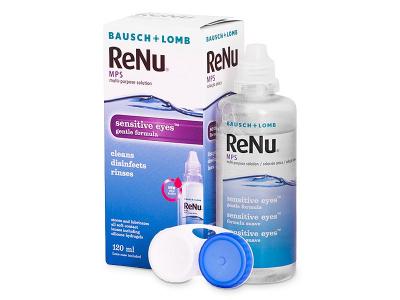 ReNu MPS Sensitive Eyes 120 ml  - Starší vzhľad