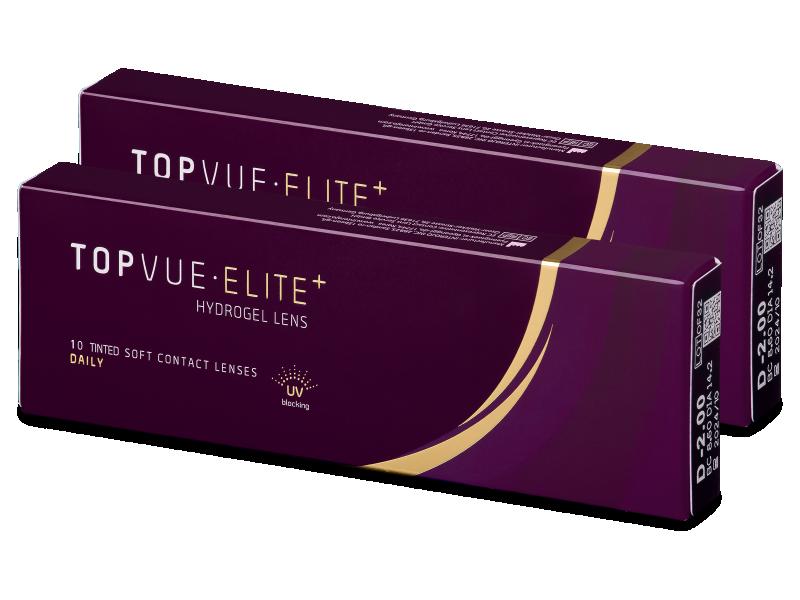 TopVue Elite+ (10 párov šošoviek) - Jednodenné kontaktné šošovky