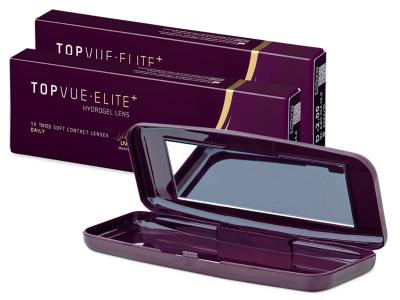 TopVue Elite+ (10 párov šošoviek) + cestovné puzdro TopVue Elite