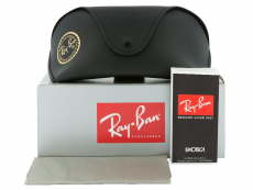 Ray-Ban Jackie Ohh II RB4098 710/71  - Preview pack (illustration photo)