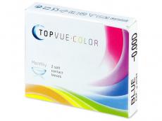 Farebné kontaktné šošovky - TopVue Color - nedioptrické (2šošovky)