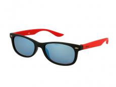 Slnečné okuliare Wayfarer - Detske slnečné okuliare Sport Black Red Mirror