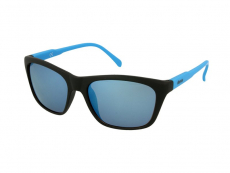 Slnečné okuliare obdĺžníkové - Slnečné okuliare Alensa Sport Black Blue Mirror