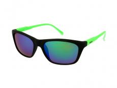 Slnečné okuliare obdĺžníkové - Slnečné okuliare Alensa Sport Black Green Mirror