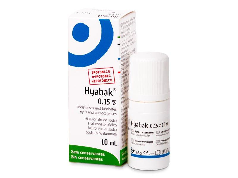 Očné kvapky Hyabak 10 ml  - Očné kvapky