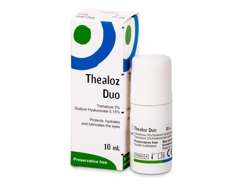 Očné kvapky - Očné kvapky Thealoz Duo 10 ml