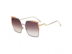 Slnečné okuliare Oversize - Fendi FF 0259/S 35J/NQ