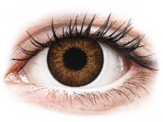 Hnedé kontaktné šošovky - nedioptrické - Air Optix Colors - Brown - nedioptrické (2šošovky)