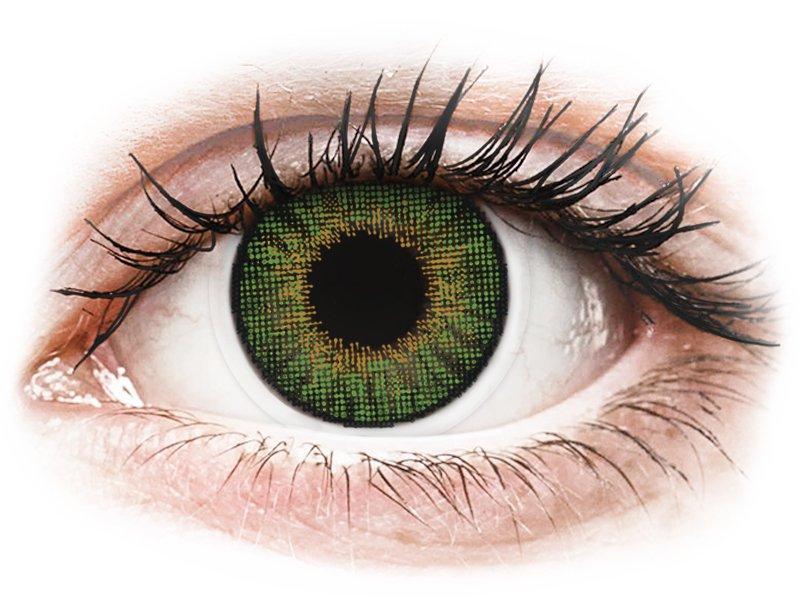 Air Optix Colors - Green - dioptrické (2šošovky) - Coloured contact lenses